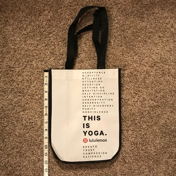 lululemon athletica Handbags - Small Lululemon Shopping Bag